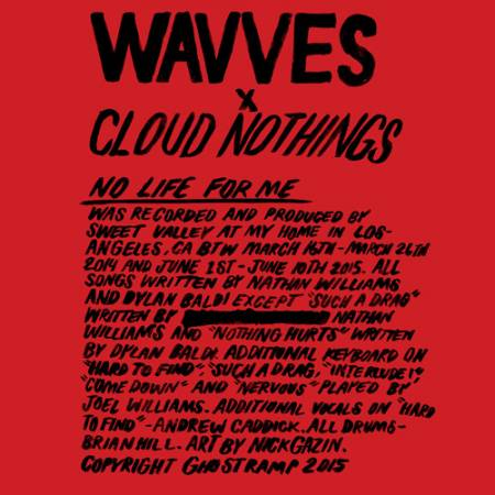 Picture of No Life For Me Cloud Nothings WAVVES  at Stereofox