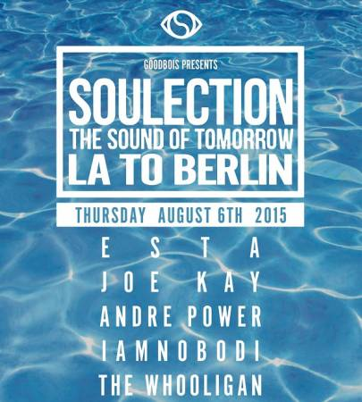 Picture of Event: Soulection crew live in Haubentaucher, Berlin (06.08.2015) at Stereofox