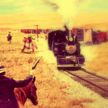 Picture of Train Robbery Ponchomann  at Stereofox