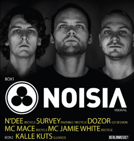 Picture of Event: Win Free Tickets to Noisia at Club Gretchen (12.03.2016) at Stereofox