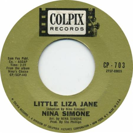 Picture of Little Liza Jane Nina Simone  at Stereofox