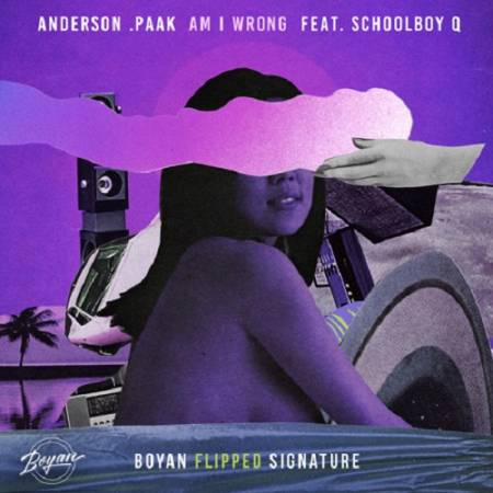 Picture of Am I Wrong (Boyan FLIPPED SIGNATURE) Boyan Anderson .Paak  at Stereofox