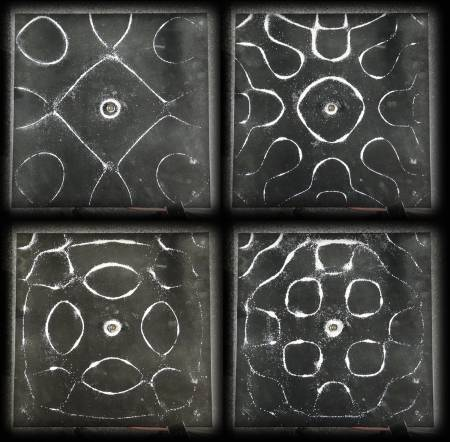 Picture of Video : Chladni's Plate ExperimentAmazing Complex Geometrical Shapes at Stereofox