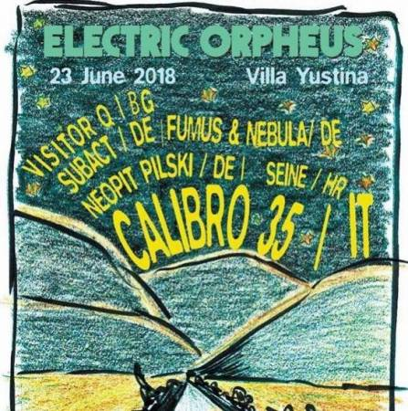 Picture of Event: Electric Orpheus at Villa Yustina (Plovdiv, Bulgaria) at Stereofox