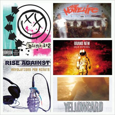 Picture of Top 5 Pop-Punk/Punk Rock Albums of 2003 at Stereofox