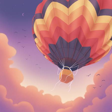 Picture of Hot Air Balloon RINZ. Letter10 Beats  at Stereofox