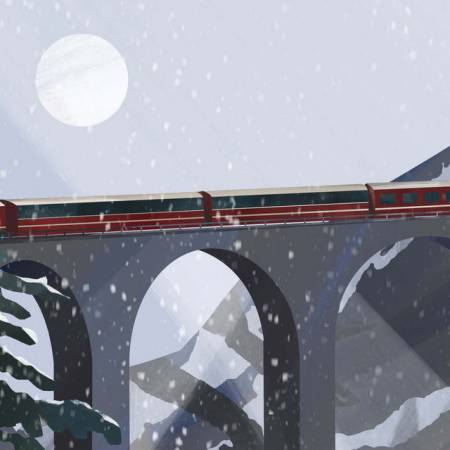 Picture of Norway by Train Clifford Louk faff  at Stereofox