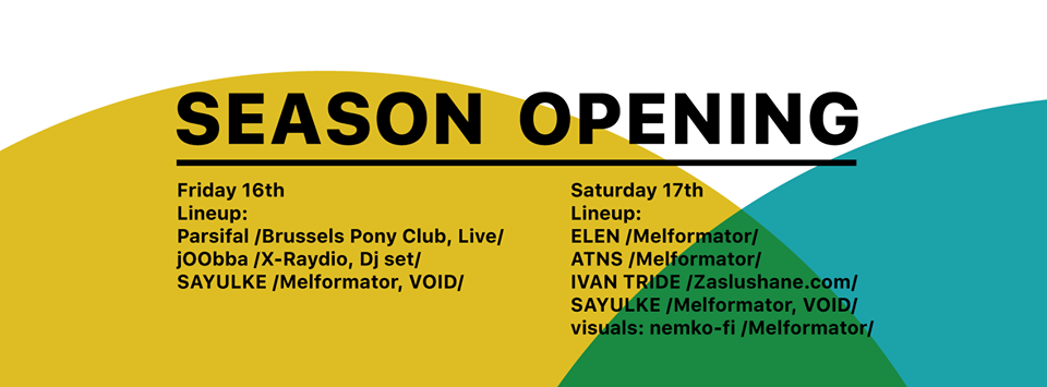 club void openign party with parsifal stereofox