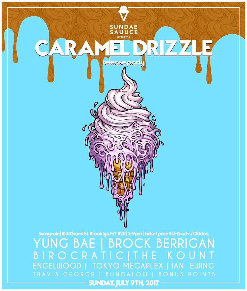 caramel drizzle new york release party